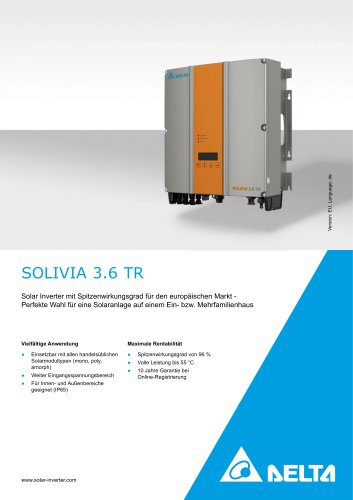SOLIVIA 3.6 TR