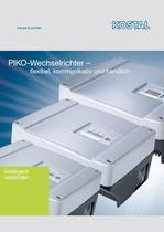 PIKO-Wechselrichter ?  flexibel, kommunikativ und handlich