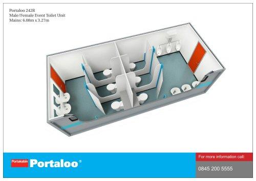 Portaloo 242R