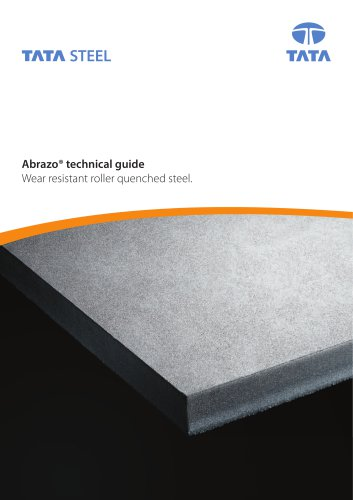 Abrazo technical guide - Wear resistant roller quenched steel.