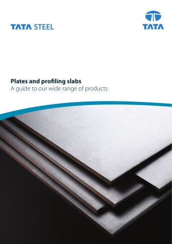 Plates and Profiling Slabs
