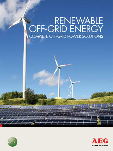 RENEWABLE OFF -GRID ENERGY COMPLETE off-grid POWER solutions