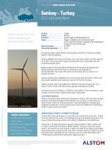 Senkoy - Turkey :  ECO 100 wind farm
