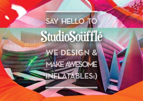 Studio Souffle Booklet