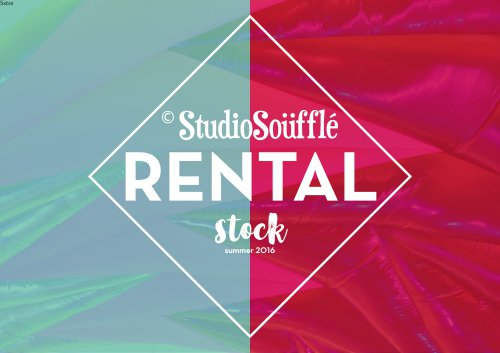 Studio Souffle Rentals