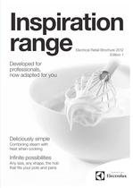 inspiration range Electrical Retail Brochure 2012