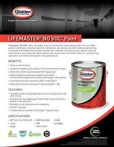 Lifemaster® No VOC