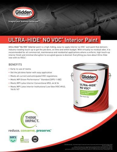 Ultra-Hide® No VOC*