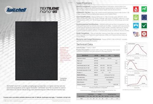 TEXTILENE® nano™ 95