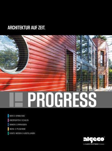 ARCHITEKTUR AUF ZEIT. PROGRESS