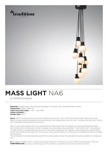 Mass Light NA6 info