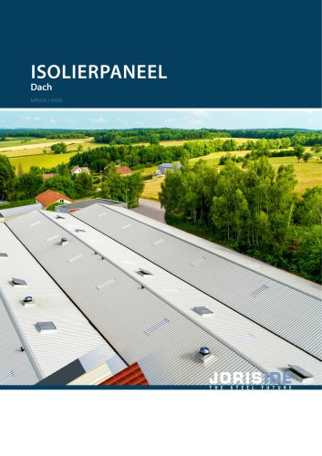 Isolierpaneel Dach
