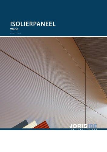 Isolierpaneel Wand