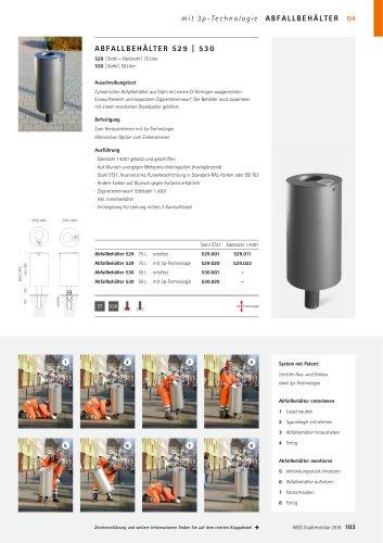 ABES Abfallbehälter 529/530