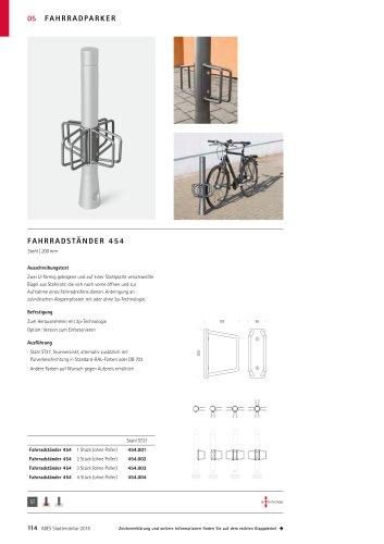 ABES Fahrradständer 454