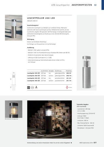 ABES Leuchtpoller 200 (LED)