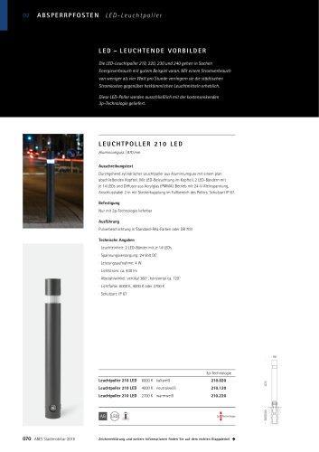 ABES Leuchtpoller 210 LED