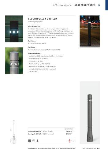 ABES Leuchtpoller 240 LED