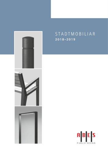 ABES Stadtmobiliar 2018|2019 - Produktkatalog DE