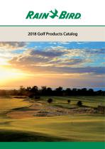 2018 Golf Products Catalog