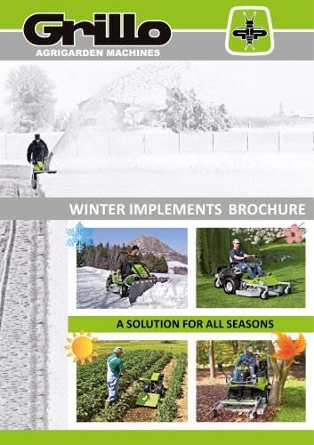 winter implements brochure