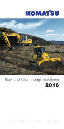 Bau- und Gewinnungsmaschinen