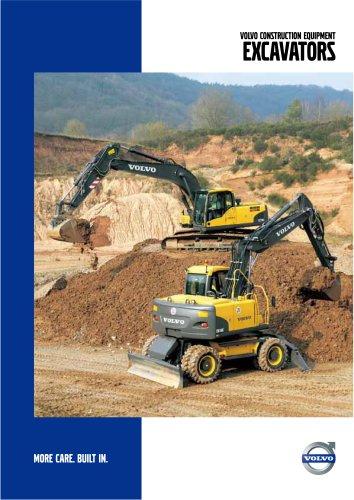 Wheeled & Crawler Excavators