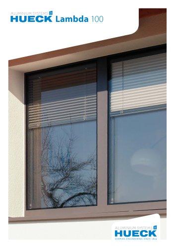 HUECK Lambda 100 - Verbundfenster