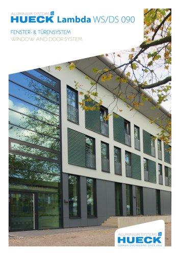 HUECK Lambda WS/DS 090 - Fenster- und Türensystem