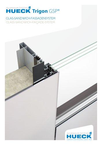 HUECK Trigon GSP - Glas-Sandwich-Fassadensystem