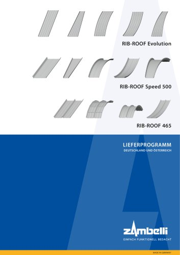Lieferprogramm RIB-ROOF