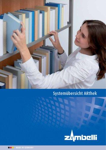 Systemübersicht ARthek - Regalsysteme