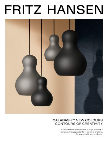 CALABASH™ NEW COLOURS
