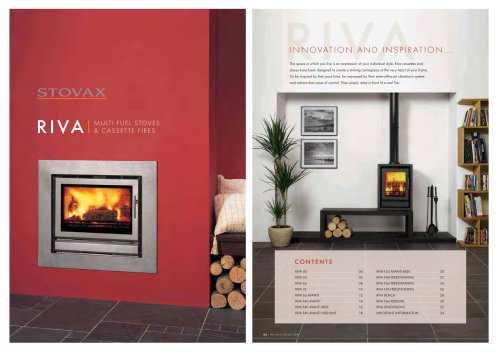 Catalogue MULTI-FUEL STOVES et CASSETTE FIRES