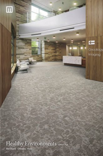 Healthy Environments carpet tile
