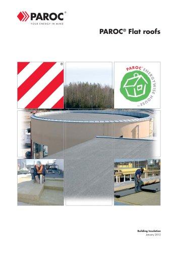 Construction:Paroc Flats Roofs