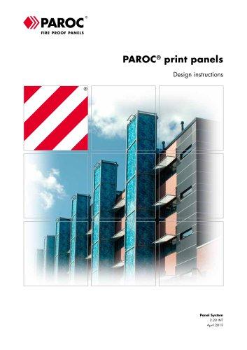 PAROC Print Panels