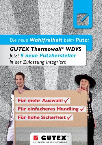 Ergänzte Zulassung GUTEX Thermowall®