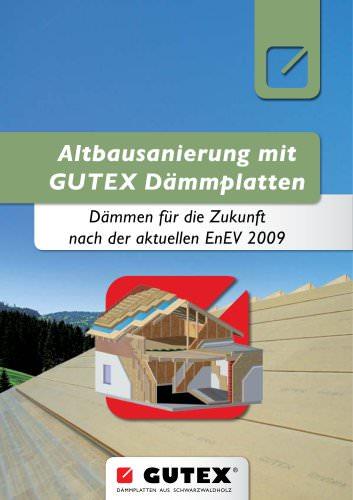 GUTEX Altbausanierung