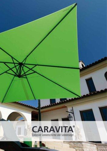 CARAVITA Exklusive Sonnenschirme und Sonnensegel