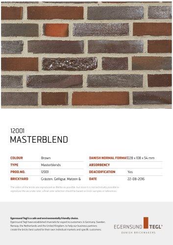 12001 MASTERBLEND