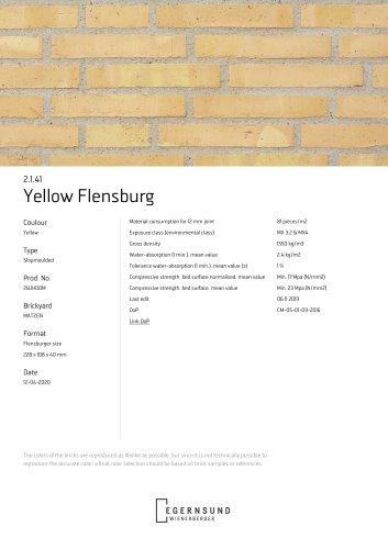 2.1.41 Yellow Flensburg