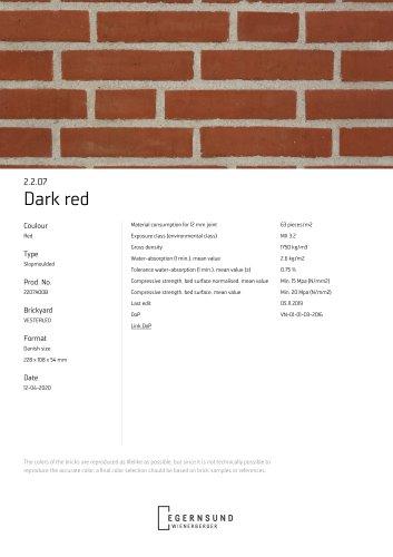 2.2.07 Dark red
