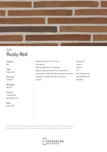 2.2.11 RUSTY RED