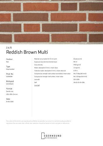 2.4.15 Reddish Brown Multi