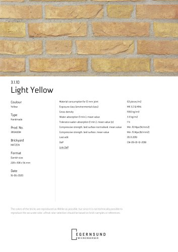 3.1.10 Light Yellow