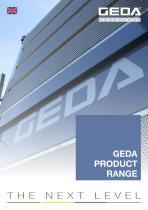 GEDA PRODUCT RANGE