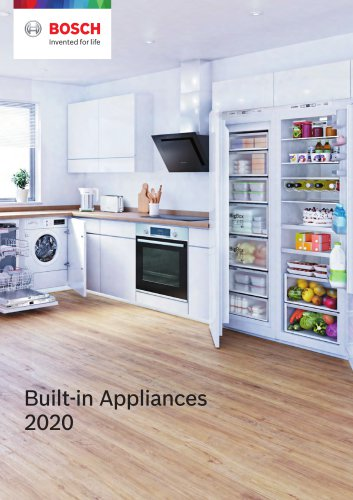 Built-in Appliances 2020