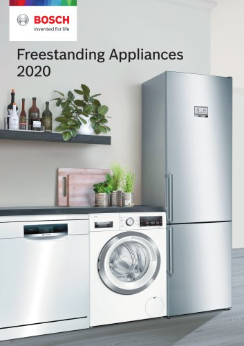 Freestanding Appliances 2020