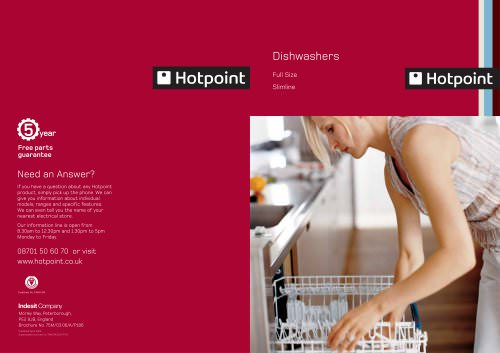 HOT POINT DISHWASHER